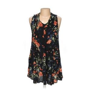 Urban Outfitters Ecote Black Floral Dress
